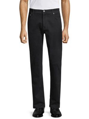 Corneliani Slim-fit Jeans In Black