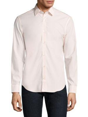 Burberry Cambridge Classic Shirt In Pale Pink