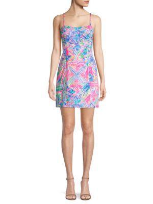Lilly Pulitzer Shelli Stretch Dress In Multi