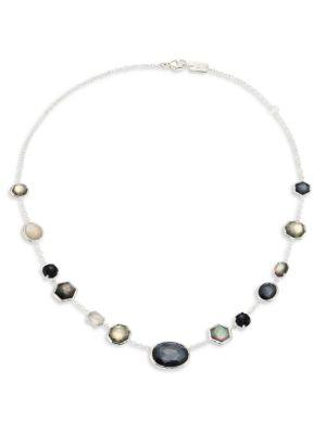 Ippolita Rock Candy® Sterling Silver Mixed Stone Necklace In Silver-multi