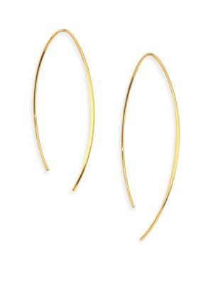 Jules Smith Ari Goldplated Threader Drop Earrings