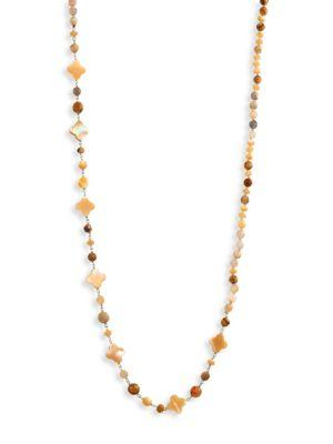 Chan Luu Natural Mix-beaded Strand Necklace