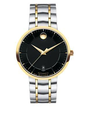 Movado Bold 1881 Automatic Two-tone Stainless Steel Bracelet Watch In Silver-gold