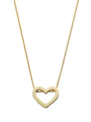 Roberto Coin Women's Tiny Treasures 18k Yellow Gold Heart Pendant Necklace