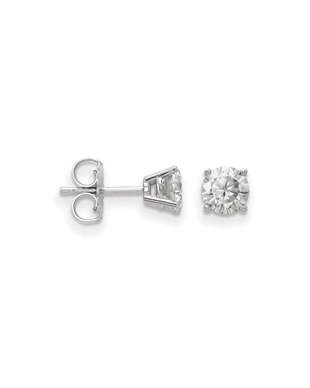 Neiman Marcus Diamonds 14k Diamond Stud Earrings, 0.5tcw
