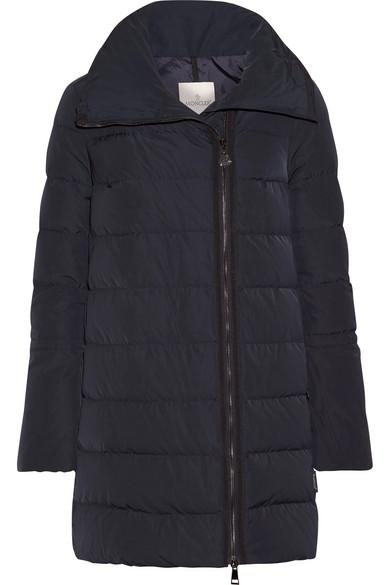 Moncler Lobelia Quilted Shell Down Coat