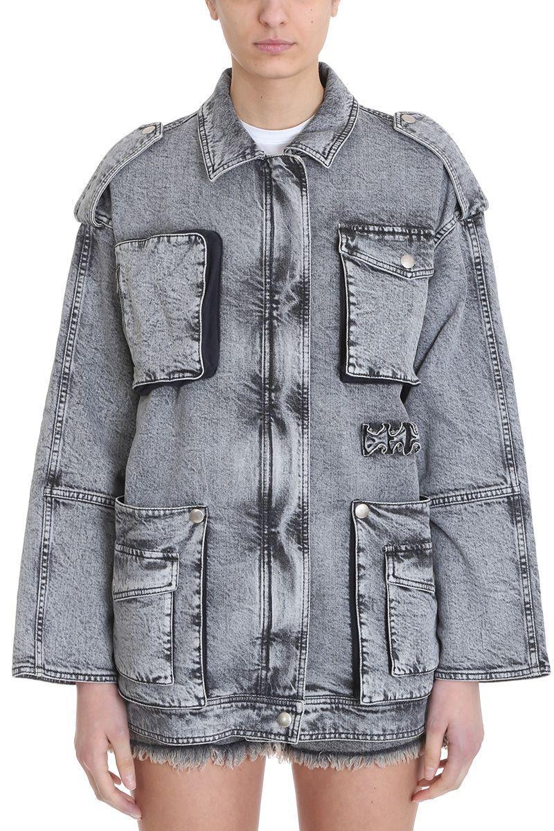 Stella Mccartney 80 Wash Black Denim Jackets