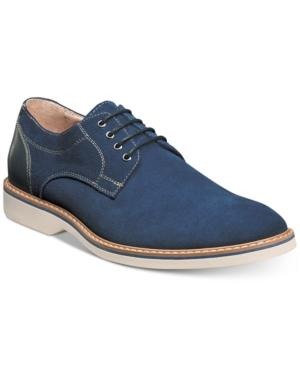 Florsheim Men's Union Plain Toe Oxfords Men's Shoes In Blue