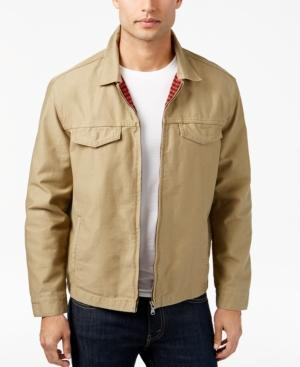 Levi's Men's Good Harrington Trucker Jacket In Lead Grey