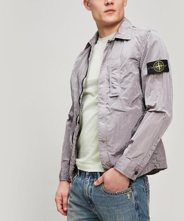 Stone Island Watro Overshirt In White
