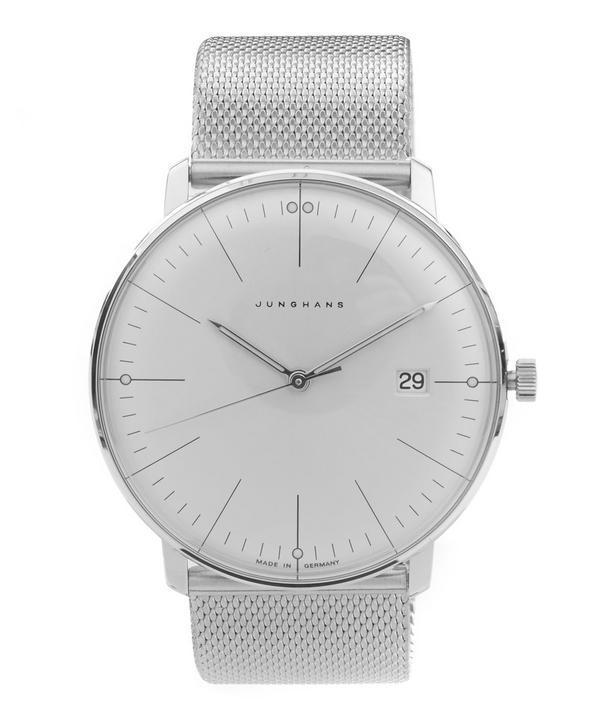Junghans Max Bill Silver Quartz Watch