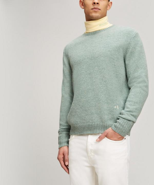 Acne Studios Nichoul Knit Jumper In Green