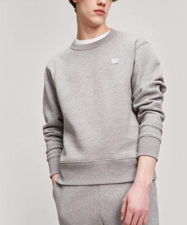 Acne Studios Fairview Face Sweat In Pink
