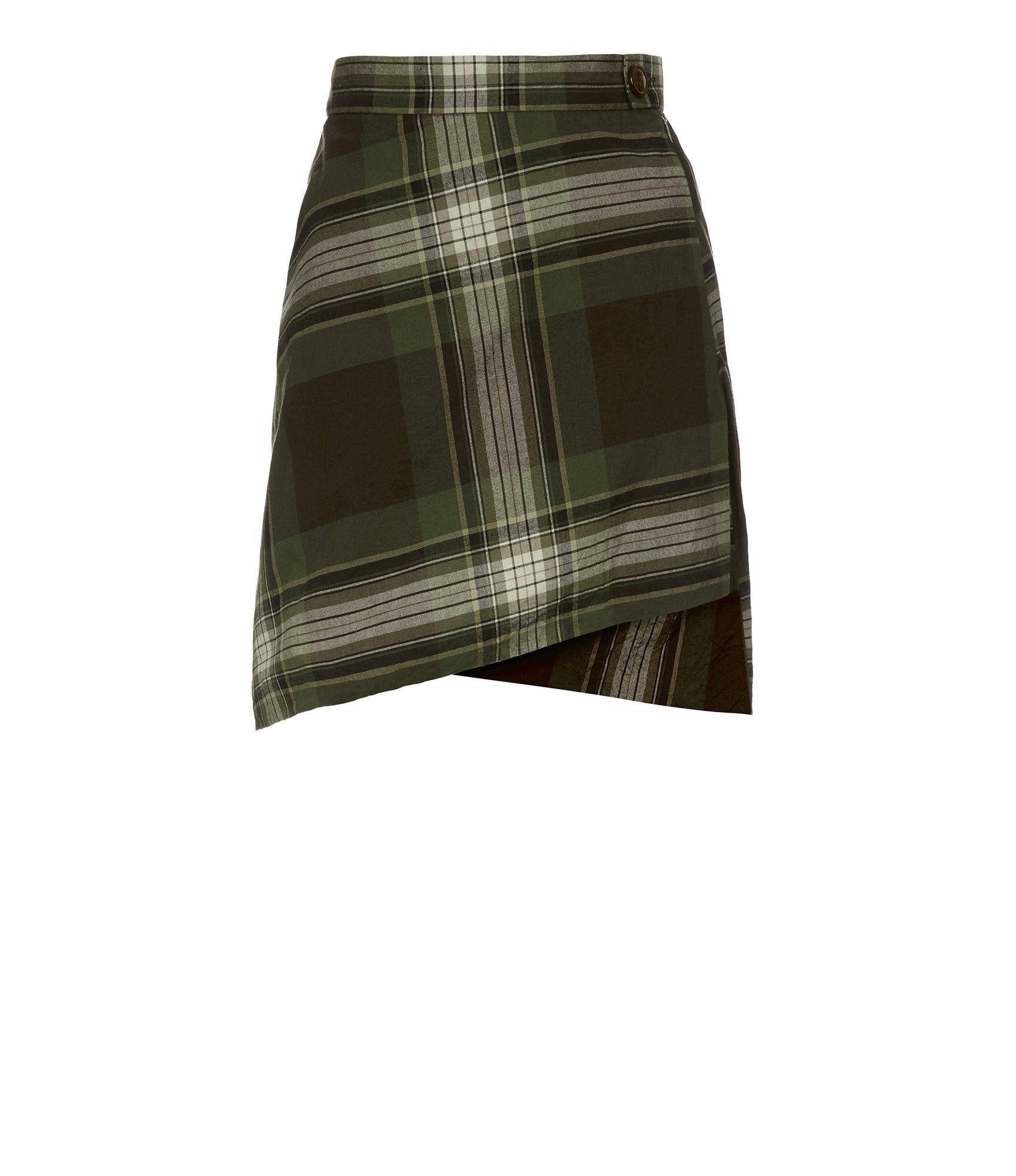 Vivienne Westwood Polina Mini Skirt Camu