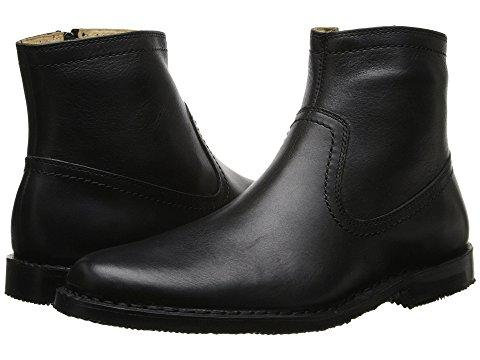 Sebago Metro Zip Boot In Black Leather