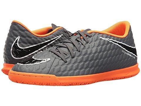 Nike Hypervenom Phantomx 3 Club Ic In Dark Grey/total Orange/white
