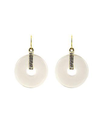 Gottex 18k Plated Retro Drop Earrings In Nocolor
