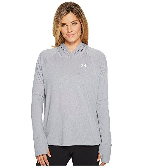 Under Armour Long Sleeve T-shirt Hoodie, True Gray Heather/graphite