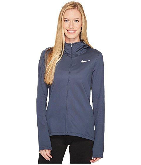 Nike Therma Full-zip Running Hoodie In Thunder Blue
