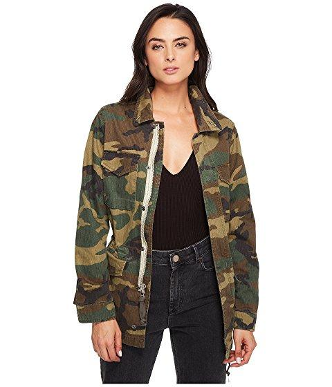 Alpha Industries Revival Field Coat In Woodland Camo