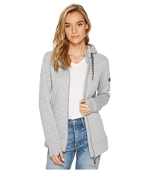 Roxy Frost Fleece Top In Heritage Heather