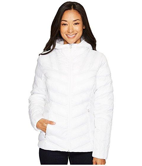 Spyder Geared Hoodie Synthetic Down Jacket, White