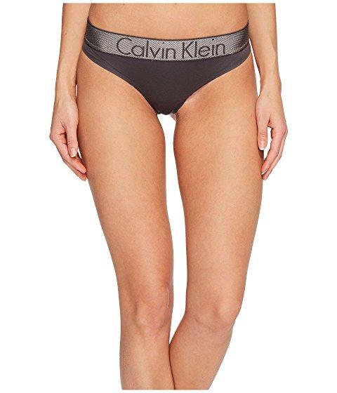 Calvin Klein Underwear Customized Stretch Thong Panty In Ashford Gray