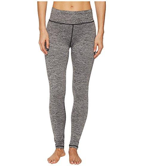 Adidas Originals Performer High-rise Brushed Cozy Tights In Black Heather