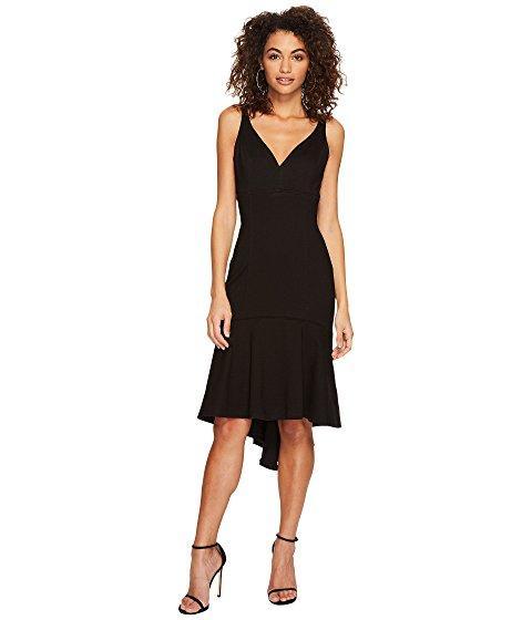 Adelyn Rae Izabela High-low Midi Dress In Black