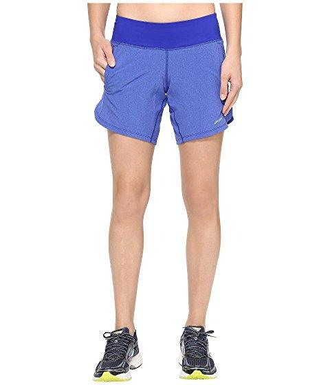 """Brooks Chaser 7"""" Shorts In Heather Cobalt"""