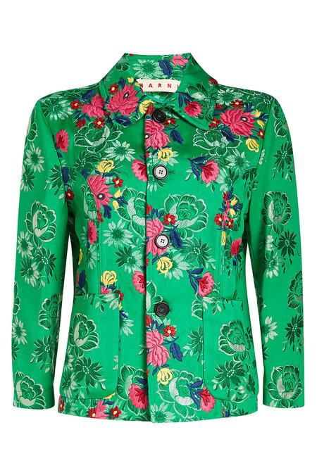 Marni Embroidered Jacket In Florals