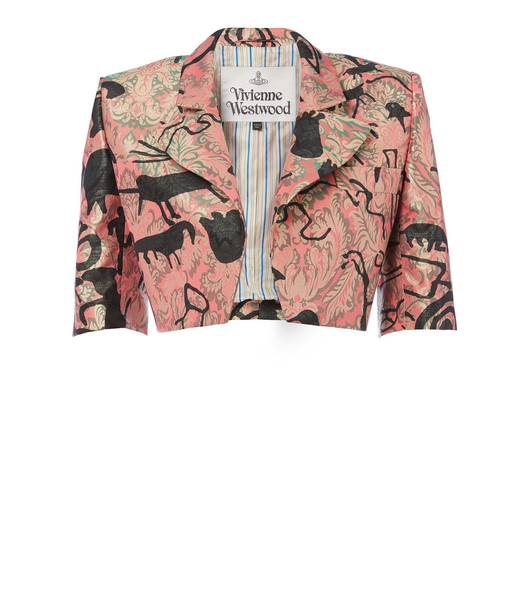 Vivienne Westwood Crop Jacket Pink