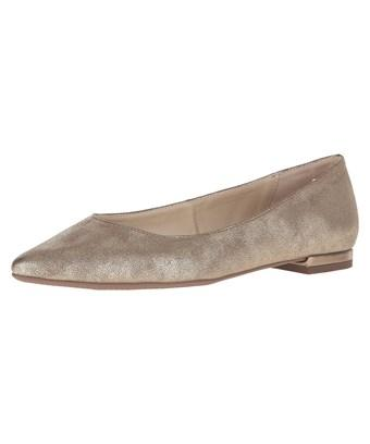 Circus By Sam Edelman Women's Honor Pointed Toe Flat In Silver