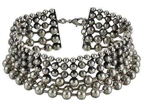 Dannijo Vernon Choker Necklace In Ox Silver