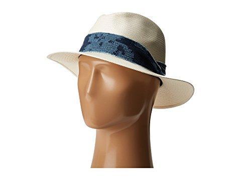 Rag & Bone Panama Hat In White Etch