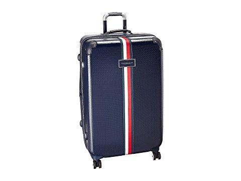 "Tommy Hilfiger Basketweave 28"" Upright Suitcase, Navy"