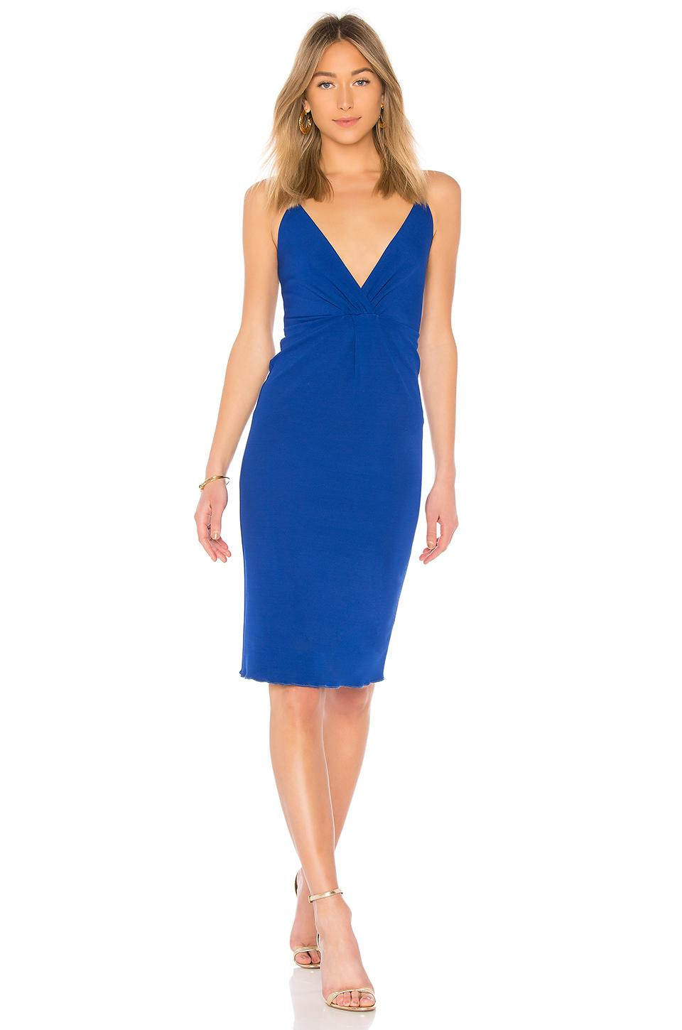 House Of Harlow 1960 X Revolve Piers Dress In Cobalt