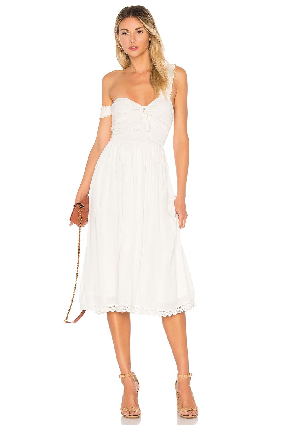 House Of Harlow 1960 X Revolve Taylor Dress In Cream.