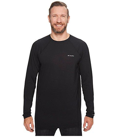 Columbia Big & Tall Midweight Stretch Long Sleeve Top In Black