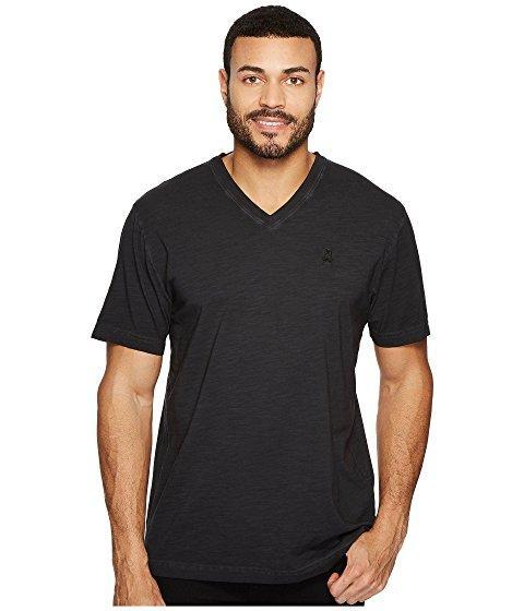 Psycho Bunny Sublime Wash V-neck T-shirt In Black