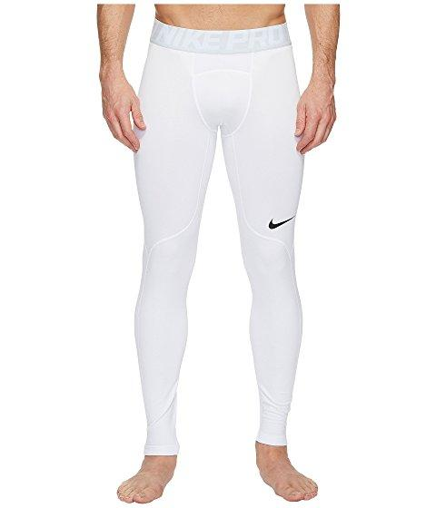 Nike Pro Hyperwarm Training Tight, White/wolf Grey/black