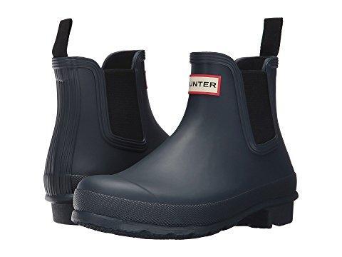 Hunter Original Chelsea Boots In Navy