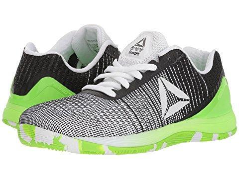 uusi tuote noukkia korkealaatuinen Crossfit® Nano 7.0 in Neon White/Black/Solar Green