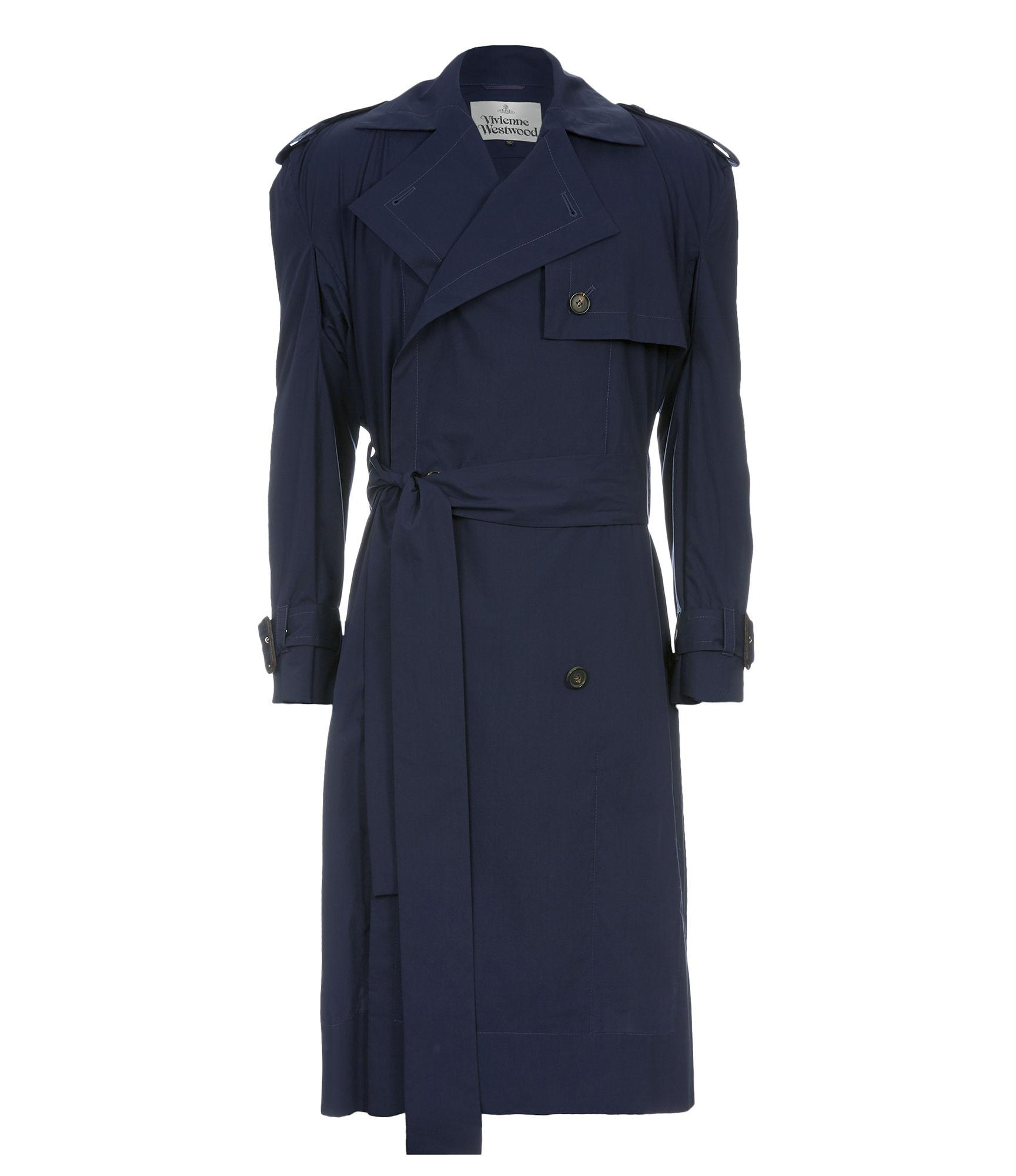 Vivienne Westwood Gabelle Trench Coat Navy