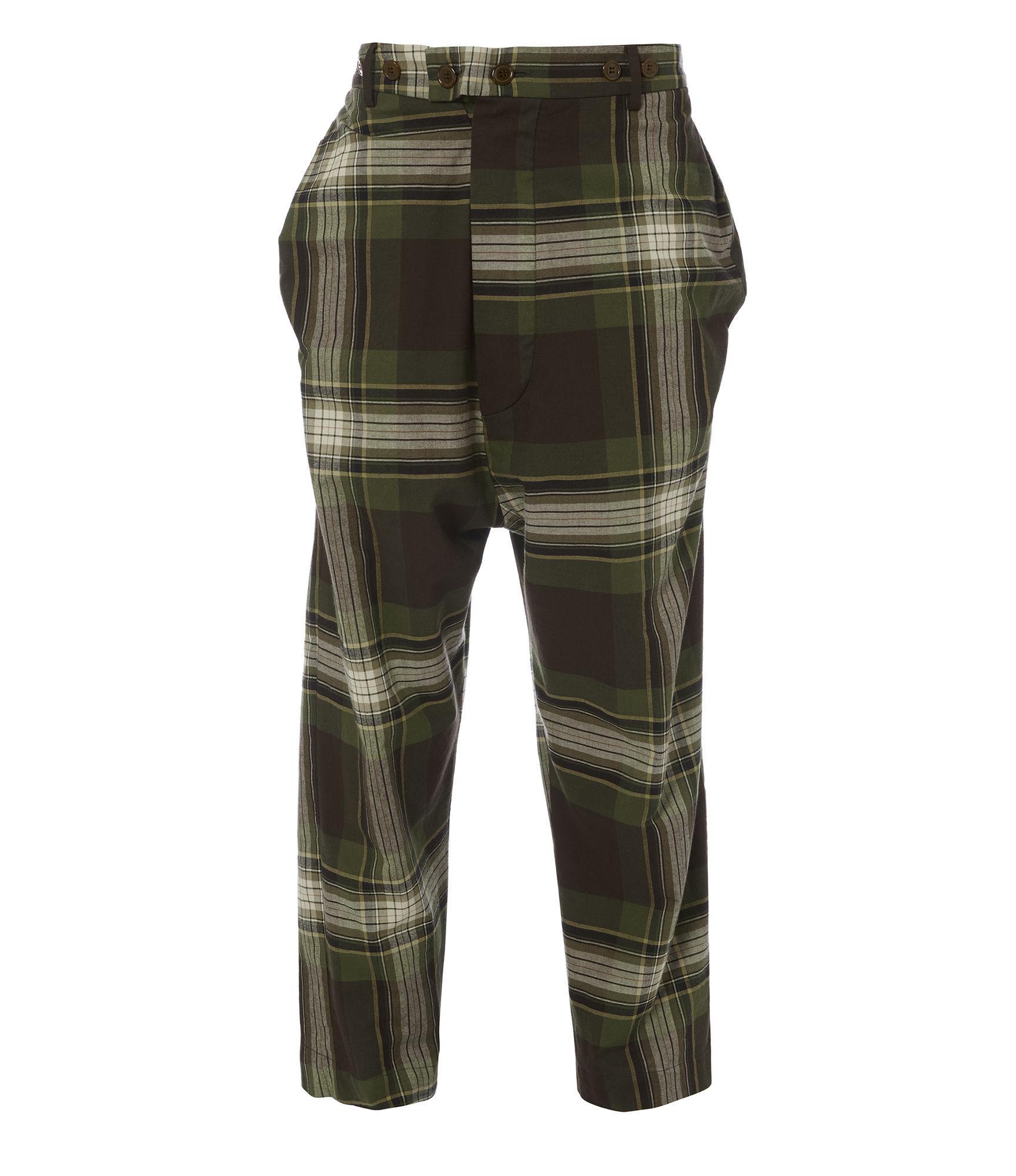 Vivienne Westwood Warped Trousers Camu