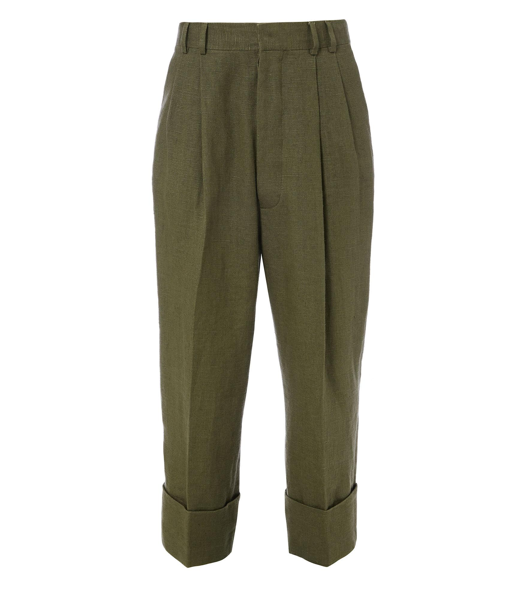 Vivienne Westwood Gable Trousers Olive Green