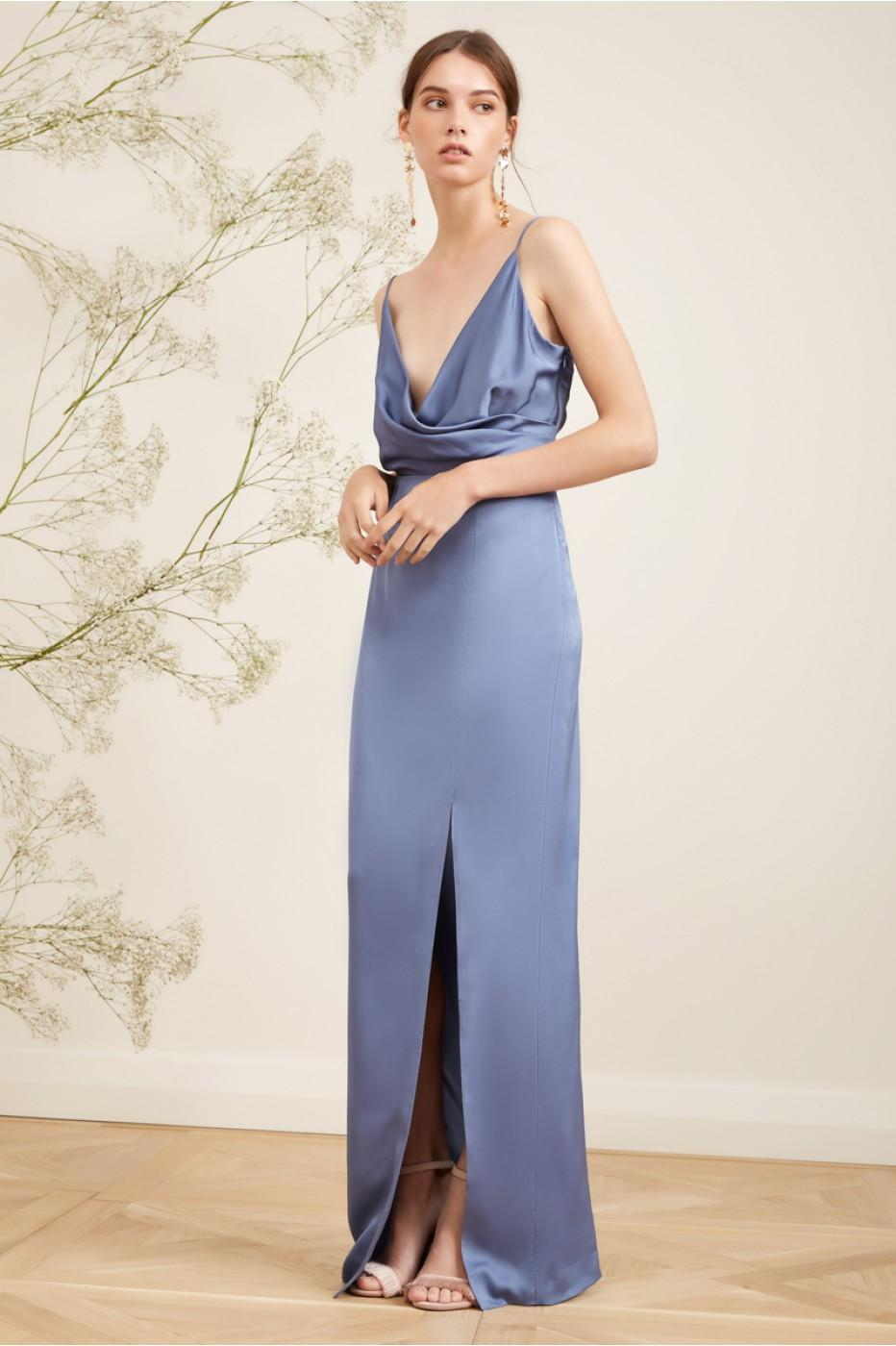Keepsake This Moment Gown In Dusty Blue