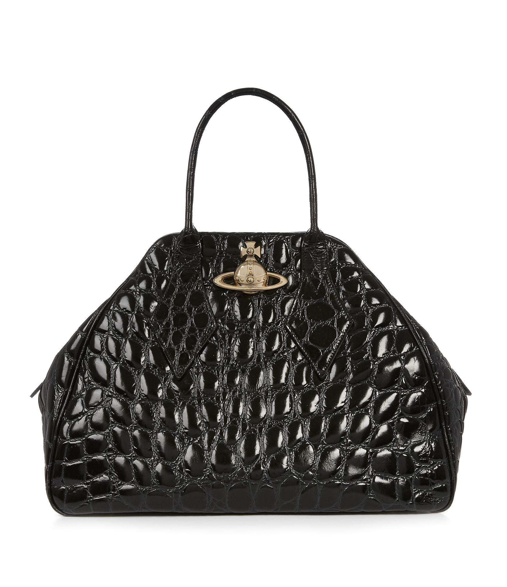 Vivienne Westwood Large Yasmine Bag 45010001 Black