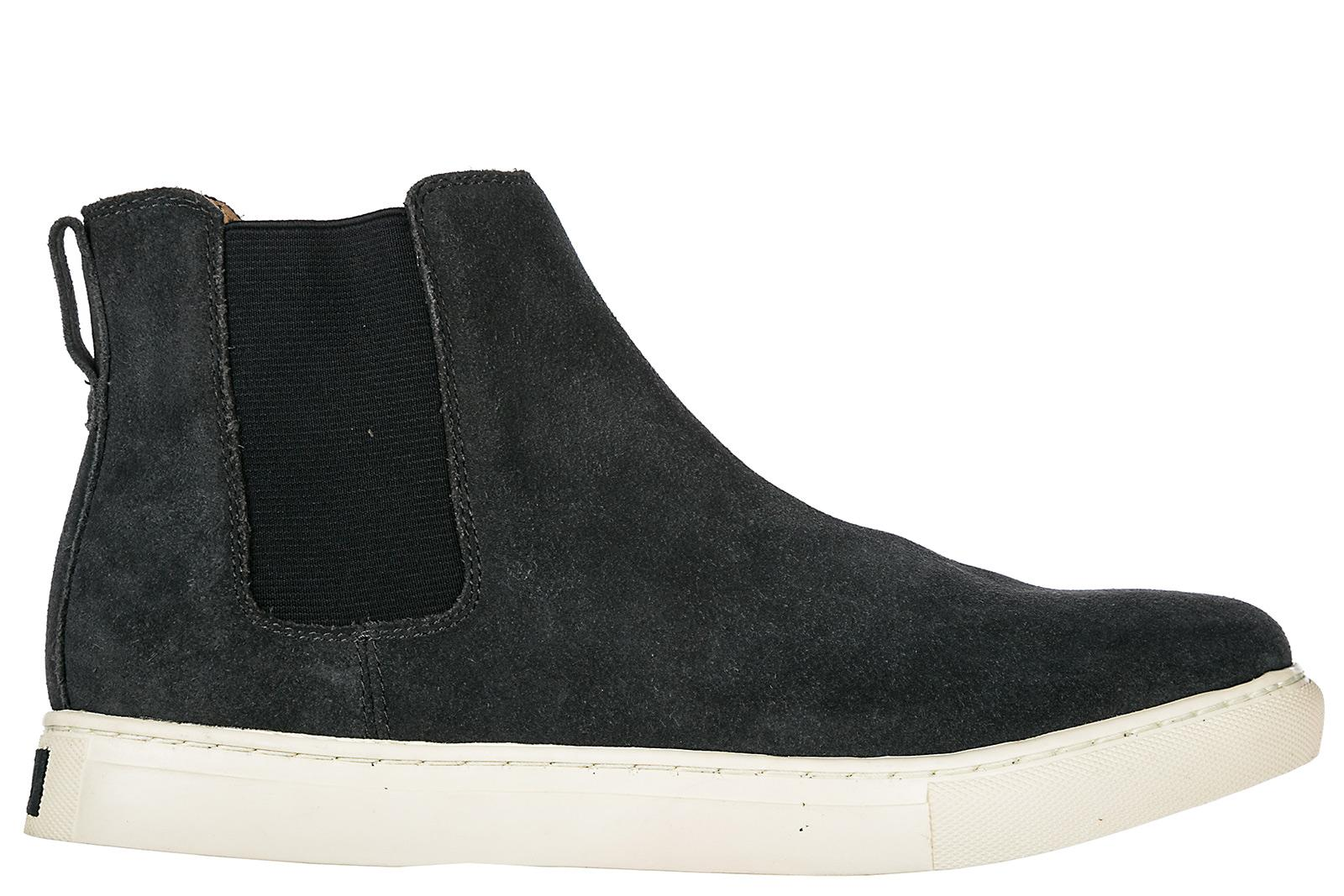 Polo Ralph Lauren Men's Suede Desert Boots Lace Up Ankle Boots Jonny In Grey
