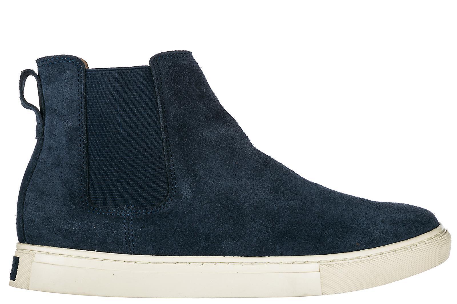 Polo Ralph Lauren Men's Suede Desert Boots Lace Up Ankle Boots Jonny In Blue